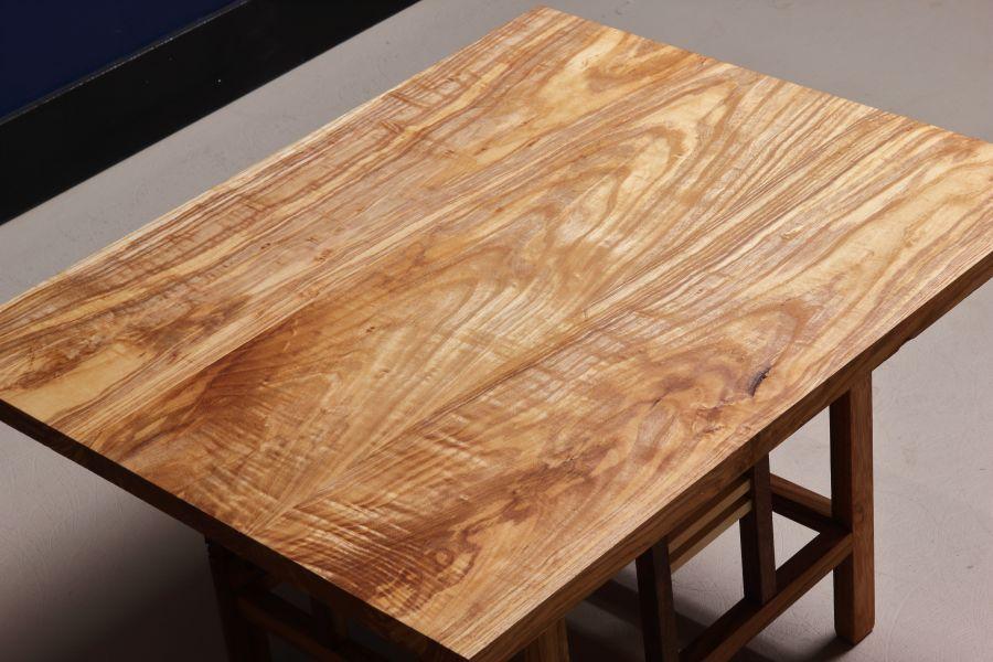 Allegaar massief houten salontafel