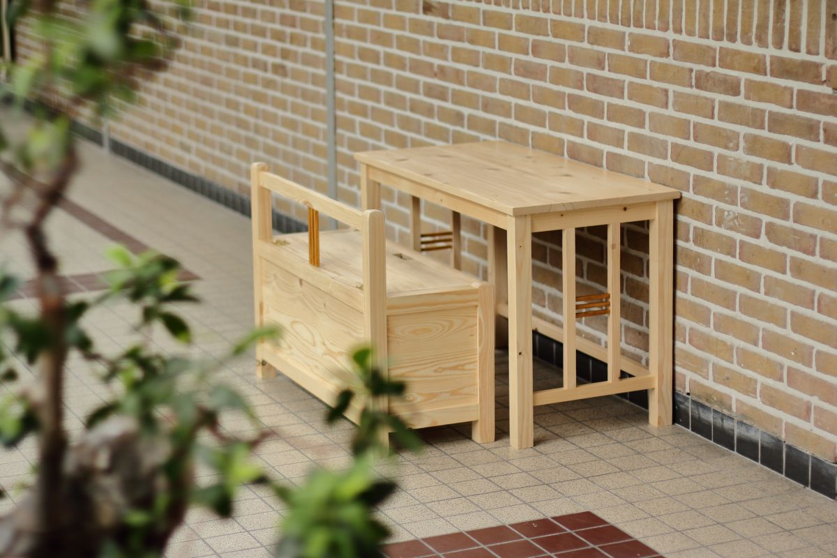 Laurier Desk and bench - Espenaer