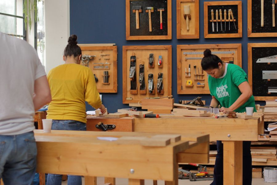Woodworking course in Amsterdam
