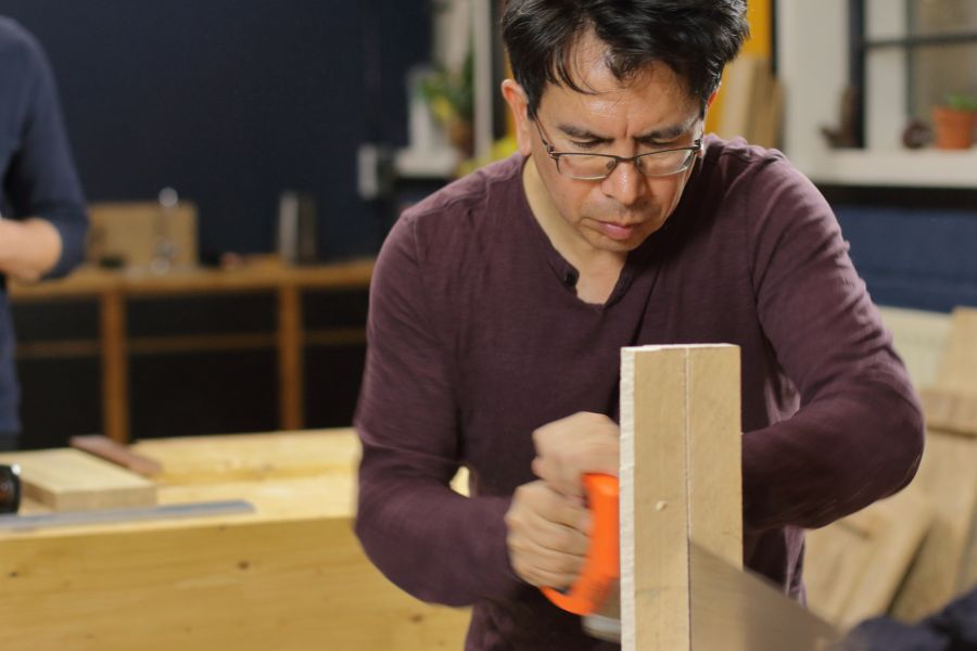 Woodworking course at Atelier Espenaer