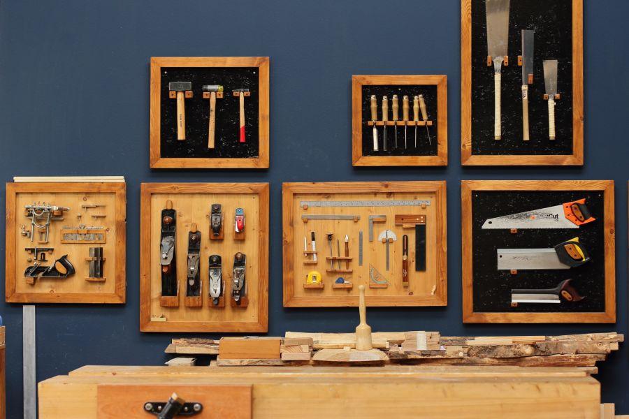 Tool wall Atelier Espenaer