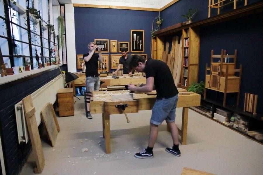 Cursus houtbewerking in Amsterdam - Atelier Espenaer