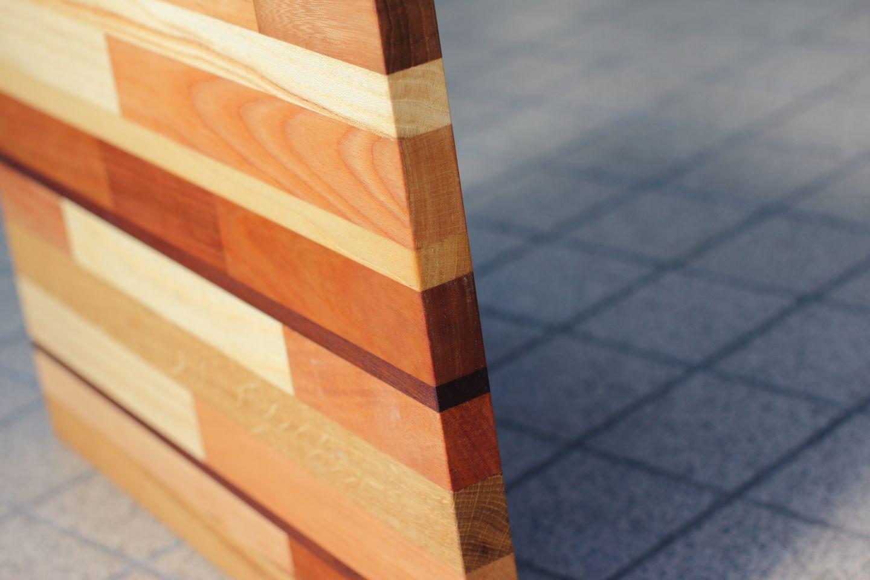 Handgemaakte houten snijplank op maat