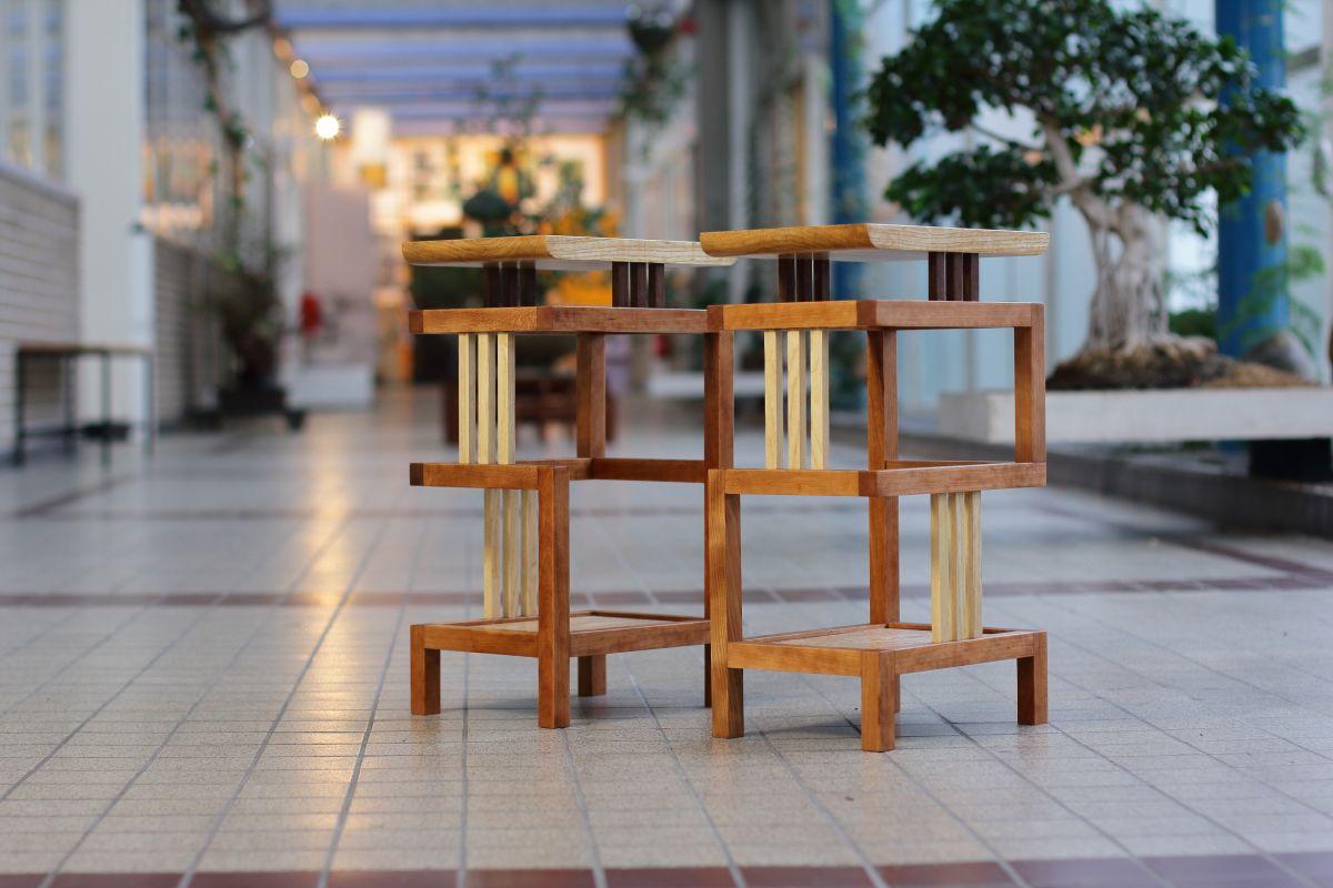 Façades Side table - Espenaer