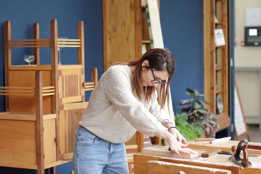 Workshop houtbwerking in Amsterdam bij Atelier Espenaer