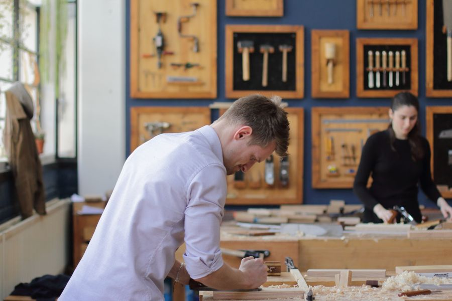 Woodworking courses in Amsterdam at Atelier Espenaer