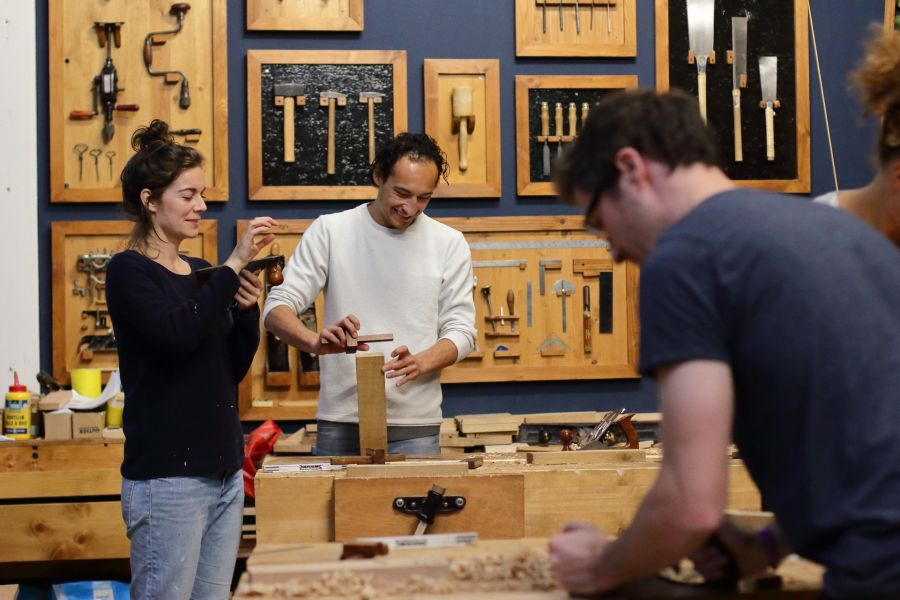 Artisanal woodworking course in Amsterdam @ Atelier Espenaer