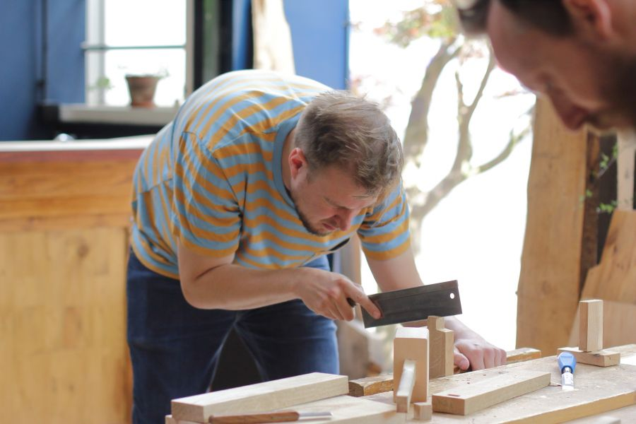 Woodworking course in Amsterdam @ Atelier Espenaer