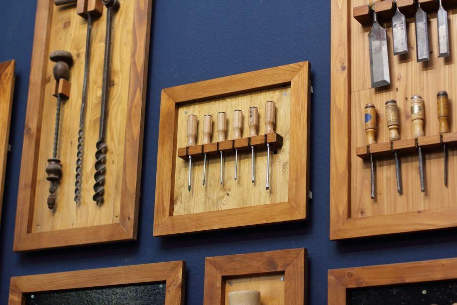 Tool wall @ Atelier Espenaer