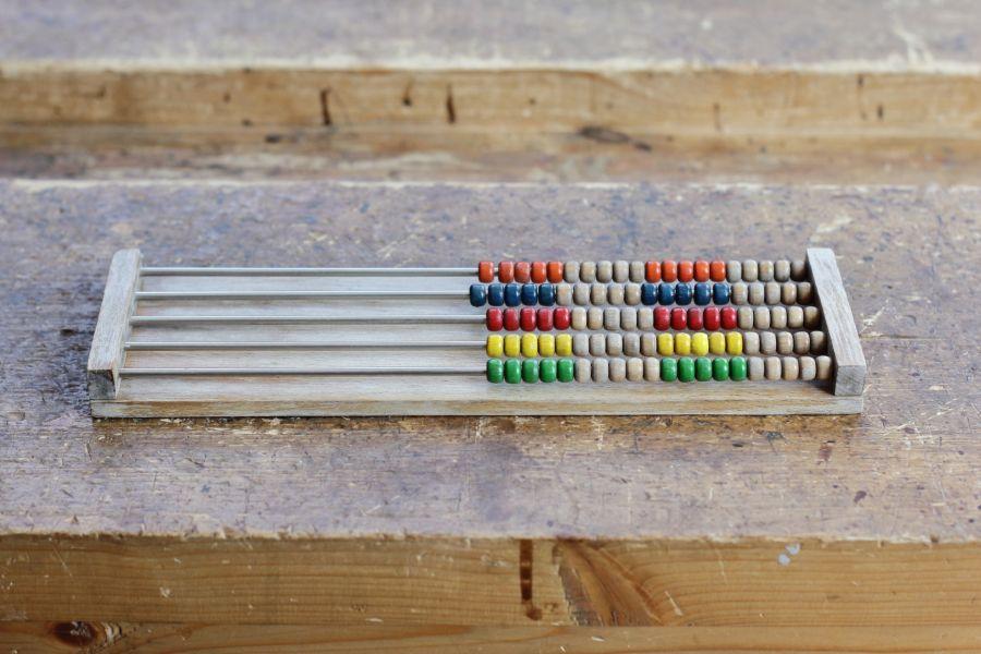 Refurbishing an abacus