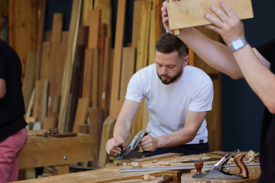 Artisanal Woodworking workshops in Amsterdam @ Atelier Espenaer