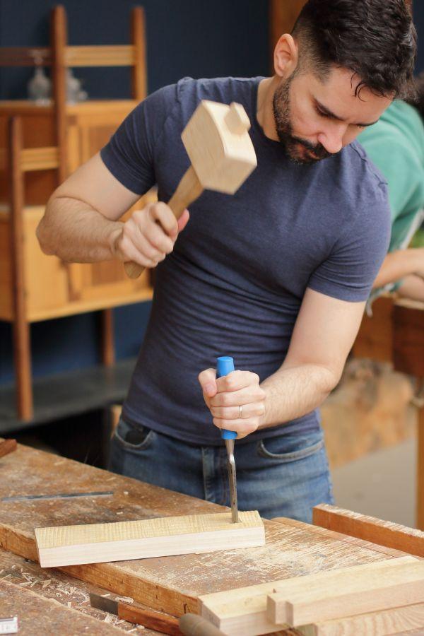 Cursus ambachtelijke houtbewerking in Amsterdam bij Atelier Espenaer