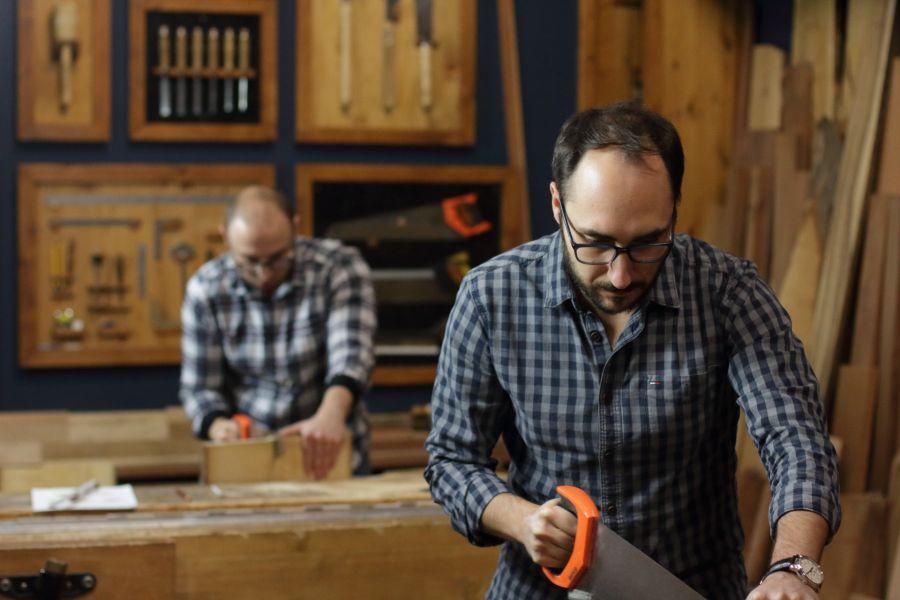 Artisanal Woodworking Course in Amsterdam @ Atelier Espenaer